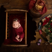 newborn photographer ipswich newborn baby photos ipswich suffolk christmas tree