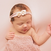 light pink baby ipswich photographer